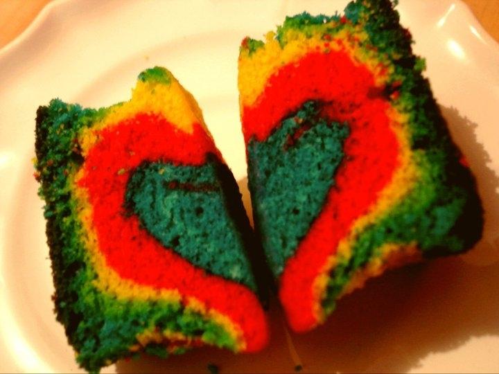 Doces multicoloridos