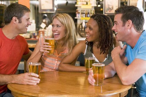 Amigos cerveja