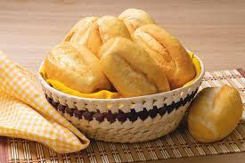 Pão e batata frita