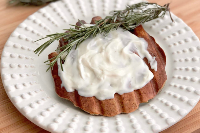 Pão de grill de batata-doce